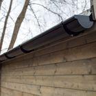 Kunststof dakgoot uitbreidingsset 200 cm
