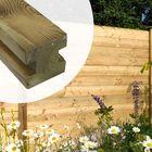 Gleufpaal Geïmpregneerd hout