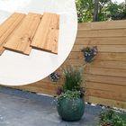 Lariks Douglas Channelsiding Verticale planken 1.8 x 14.2 cm Kunstmatig Gedroogd