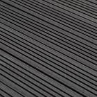 Vlonderplank Composiet Massief Antraciet 1.9 x 14.5 cm lengte 200 - 300 cm  MEGA ACTIE