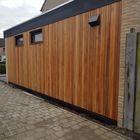 Open gevelbekleding Rhombus Red Cedar 18 x 68 mm
