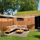 Open gevelbekleding - Rhombus Red Cedar