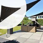 Schaduwdoek Driehoek 400 x 400 x 570 cm 90 graden