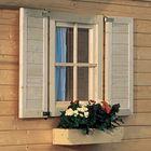 Fenster, Fensterläden und Blumenkasten als extra Option