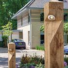 Suslught Oak staande buitenverlichting eikenhout
