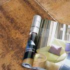 Terrastegel+ 60x60x4cm rood/bruin sfeerimpressie - Excluton