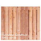 Tuinscherm Red Class Wood Casablanca 180x150 cm