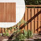 Tuinscherm Hardhout Populair 18 planks (15+3) Recht - 180 cm hoog, in 5 breedtes