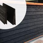 Tweezijdige Potdekselplank Zwart gecoat 19 cm breed