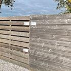 Vergrijsd schuttingplank hardhout met dubbele v-groef