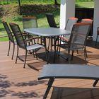 Bruine terrasplank WPC composiet 23 x 138 mm