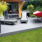 Lames de terrasse creuse en composite WPC -  Fun-Deck multigrey dark 23 x 138 mm