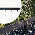 Wovar Borderrand zwart staal - flexibel