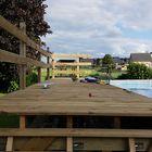 Klantfoto - Zwembad met vlonder geïmpregneerd hout