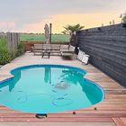 Zwemband vlonder Padoek planken