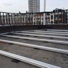 aluminium terras onderbalken funderingsbalken staal