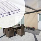 aluminium aanbouw veranda helder polycarbonaat