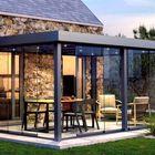 aluminium overkapping met plat dak flat roof gardendreams