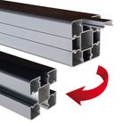 Uitneembare strips aluminium paal funfence