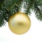Gouden kerstbal onbreekbaar