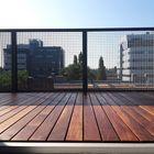 Balkon met terrasplank smal Ipé hardhout - behandeld