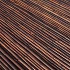 Bamboemat Zwart op rol Detail
