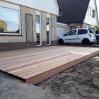Lames de terrasse en bois dur - Photo client
