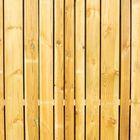 Barcodeprofiel schutting grenenhout