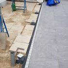 Betonpoer verzinkt hoogteverstelling plaat