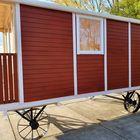 Beitz roodbruin tuinhuis beits wagen