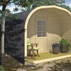 Camping tunnel vakantiehuisje