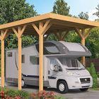 Carport voor camper
