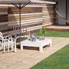 Keramische terrastegel Ceramica Terrazza Limestone Yellow 59,5x59,5x2cm Gardenlux