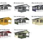 Coating keuze kleuren interflex sauna