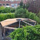Opbouw dak prieel van Red Class Wood