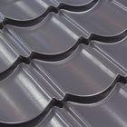 Easypan antraciet grijs dakpanplaat Close Detail