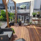 Dakterras van terrasplank smal Ipé hardhout