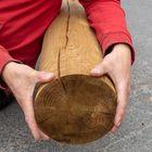 ronde paal gefreesd grenen geimpregneerd 200 mm diameter 5 en 6 meter