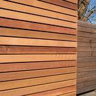 Red cedar gevelbekleding
