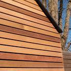 Gevelbekleding red cedar hout