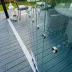 glazen wanpanelen aluminium schuifdeuren 5-delig spoor