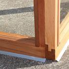 Houten tuinkas Royal Well Royal Classic 106A, 186 x 310 cm, Nokhoogte 234 cm veiligheidsglas 4mm