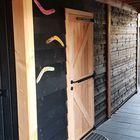 Hengen op Lariks Douglas deur