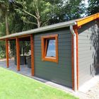 Holz carport / überdachung mit Gartenschuppen