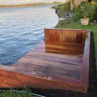 Klantfoto - Ipe steiger aan het water