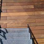 Ipe planken met blinde bevestiging