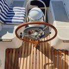 Kuipvloer vlonder voor een zeilboot