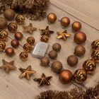 kerstballen koper onbreekbare kerstversiering