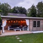 Kundenfoto Blockhaus Charlotta mit Überdachung