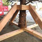 kerstboom standaard hout lariks